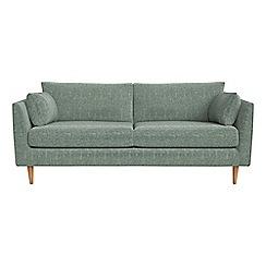 RJR.John Rocha - 3 seater chenille 'Ravello' sofa