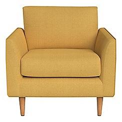 RJR.John Rocha - Tweedy weave 'Ravello' armchair