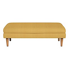 RJR.John Rocha - Tweedy fabric 'Ravello' footstool