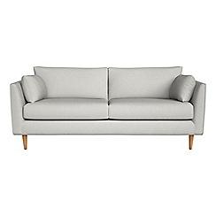 RJR.John Rocha - 3 seater flat weave fabric 'Ravello' sofa