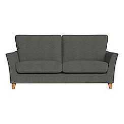 Debenhams - 2 seater tweedy weave 'Abbeville' sofa