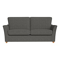 Debenhams - 2 seater tweedy weave 'Abbeville' sofa bed