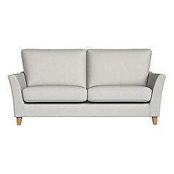 Debenhams - 2 seater flat weave fabric 'Abbeville' sofa