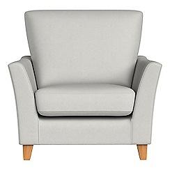 Debenhams - Flat weave fabric 'Abbeville' armchair
