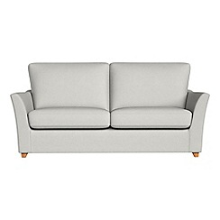 Debenhams - 2 seater flat weave fabric 'Abbeville' sofa bed