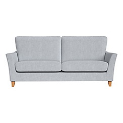 Debenhams - 3 seater brushed cotton 'Abbeville' sofa