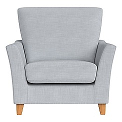 Debenhams - Brushed cotton 'Abbeville' armchair