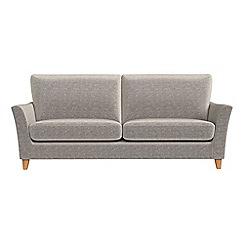 Debenhams - 4 seater chenille 'Abbeville' sofa