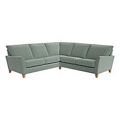 Debenhams - Chenille 'Abbeville' corner sofa