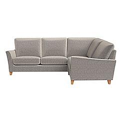 Debenhams - Chenille 'Abbeville' right-hand facing corner sofa end