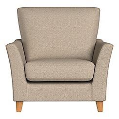 Debenhams - Textured fabric 'Abbeville' armchair