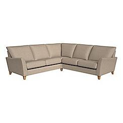 Debenhams - Textured weave 'Abbeville' corner sofa