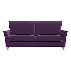 Debenhams - 3 seater velvet 'Abbeville' sofa