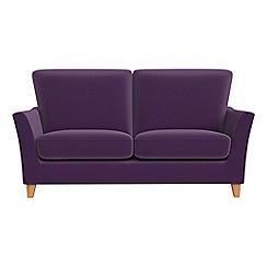 Debenhams - Small 2 seater velvet 'Abbeville' sofa