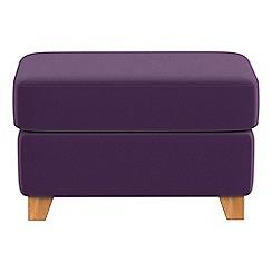 Debenhams - Velvet 'Abbeville' footstool