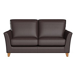 Debenhams - Small 2 seater luxury leather 'Abbeville' sofa