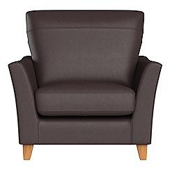 Debenhams - Luxury leather 'Abbeville' armchair