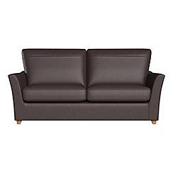 Debenhams - 2 seater luxury leather 'Abbeville' sofa bed