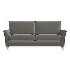 Debenhams - 3 seater natural grain leather 'Abbeville' sofa