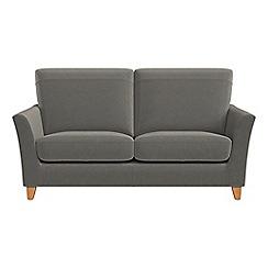 Debenhams - Small 2 seater natural grain leather 'Abbeville' sofa