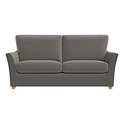 Debenhams - 2 seater natural grain leather 'Abbeville' sofa bed