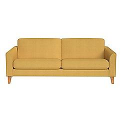 Debenhams - 3 seater tweedy weave 'Carnaby' sofa