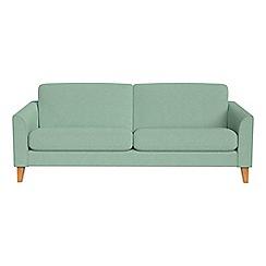Debenhams - 3 seater flat weave fabric 'Carnaby' sofa