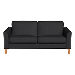 Debenhams - 2 seater flat weave fabric 'Carnaby' sofa