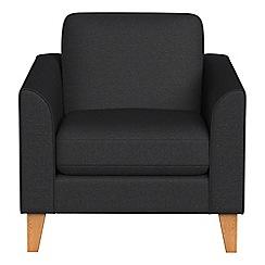 Debenhams - Flat weave fabric 'Carnaby' armchair