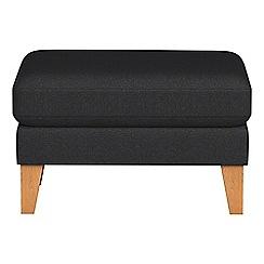 Debenhams - Flat weave fabric 'Carnaby' footstool