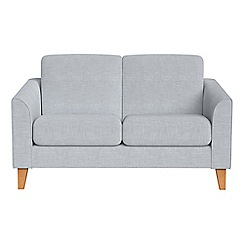 Debenhams - Compact brushed cotton 'Carnaby' sofa