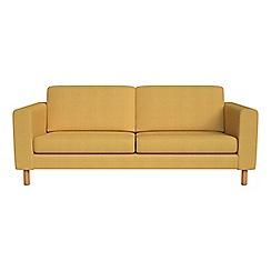 Debenhams - 3 seater tweedy weave 'Charlie' sofa