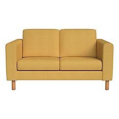 Debenhams - Small 2 seater tweedy weave 'Charlie' sofa