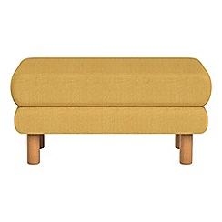 Debenhams - Tweedy weave 'Charlie' footstool