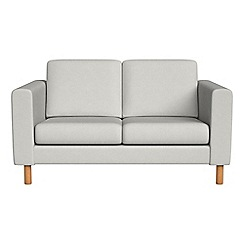Debenhams - Small 2 seater flat weave fabric 'Charlie' sofa