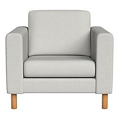 Debenhams - Flat weave fabric 'Charlie' armchair