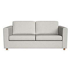 Debenhams - 2 seater flat weave fabric 'Charlie' sofa bed