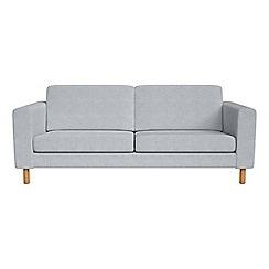 Debenhams - 3 seater brushed cotton 'Charlie' sofa