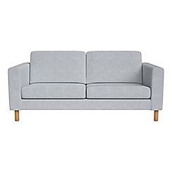 Debenhams - 2 seater brushed cotton 'Charlie' sofa