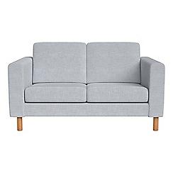 Debenhams - Small 2 seater brushed cotton 'Charlie' sofa
