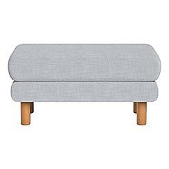 Debenhams - Brushed cotton 'Charlie' footstool
