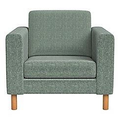Debenhams - Chenille 'Charlie' armchair