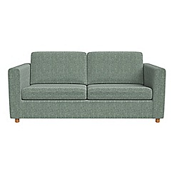 Debenhams - 2 seater chenille 'Charlie' sofa bed