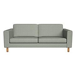 Debenhams - 3 seater textured weave 'Charlie' sofa