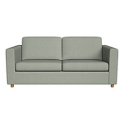 Debenhams - 2 seater textured weave 'Charlie' sofa bed
