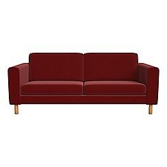 Debenhams - 3 seater velvet 'Charlie' sofa