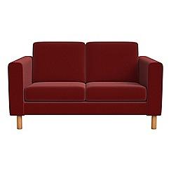 Debenhams - Small 2 seater velvet 'Charlie' sofa