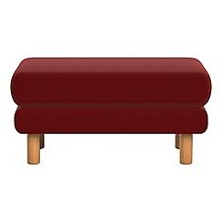 Debenhams - Velvet 'Charlie' footstool