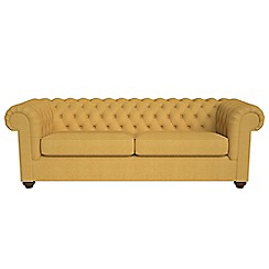 Debenhams - 4 seater tweedy weave 'Chesterfield' sofa bed