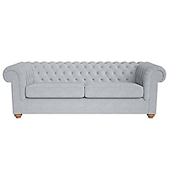 Debenhams - 4 seater brushed cotton 'Chesterfield' sofa bed